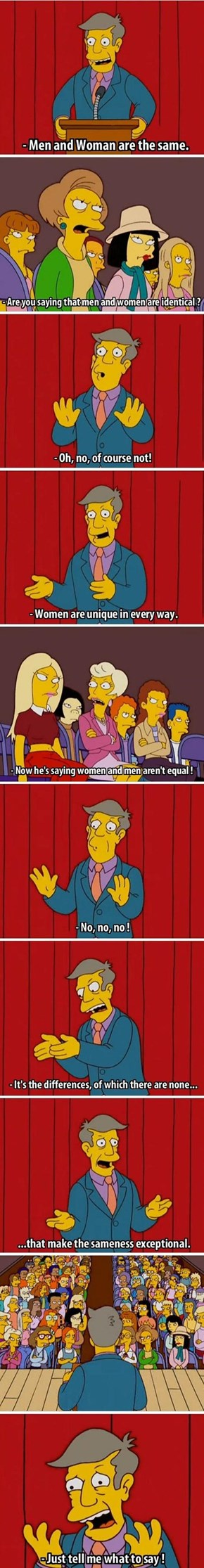 Gender Equality Arguments on the Internet Tend to Go a Lot Like This
