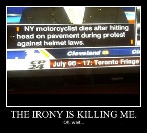Oh Sweet Irony