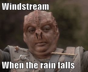Windstream  When the rain falls