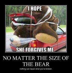 No Bear Could Be Big Enough
