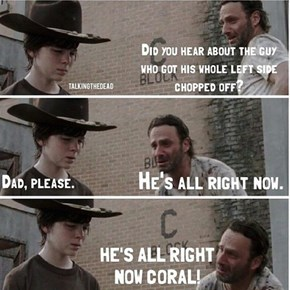 The Return of The Walking Dad Jokes