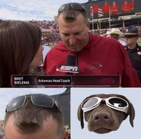 Bret Bielema's Head Reminds Me of Something...
