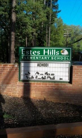 Schools Shouldn't Sneeze