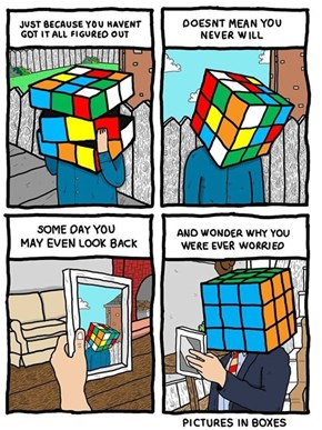 Sometimes the Hardest Puzzle to Solve Is Yourself