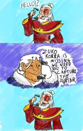 Zuko, Your Time is Now