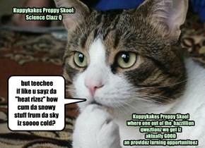 Kuppykakes Preppy Skool: Science Clazz Q