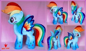 Plushie Double Rainbow Dash