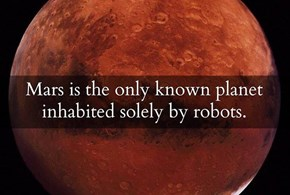 Mars Is a Very Advanced World