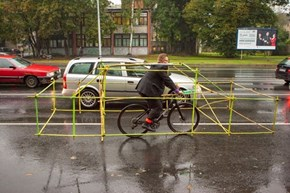 Give Cyclists a Car of Space!