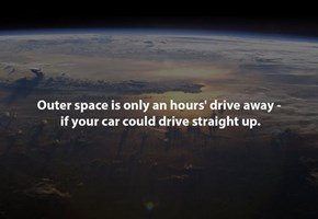 Space Isn't Too Far Away