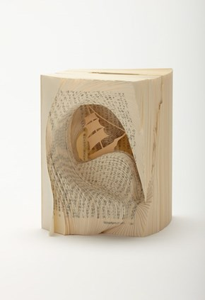 Tomoko Takeda Carves Old Books into Beautiful Pieces of Art