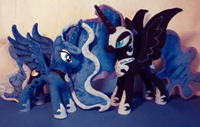 Awesome Luna and Nightmare Moon Plushie's Put Hasbro to Shame