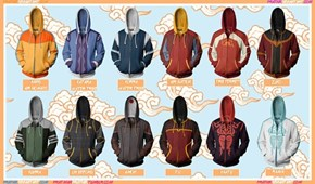 Imagine the Gaang All Dressed in These Hoodies
