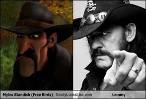 Myles Standish (Free Birds) Totally Looks Like Lemmy