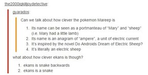 You Decide: Which Pokémon Name is Most Clever?