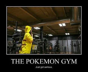 Do You Even Lift, Pikachu?