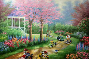 Have You Heard? The New Mario Kart DLC Includes a Thrift Store Painting Track