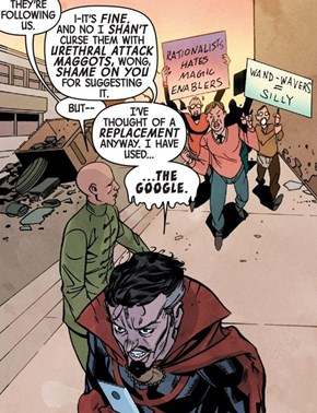Doctor Strange, Internet Troll