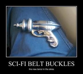 SCI-FI BELT BUCKLES