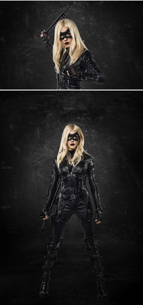 Katie Cassidy Finally Dons The Suit, Becomes Black Canary