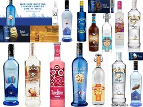 Kiddie Vodka Collage