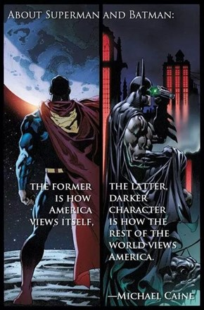 DC Comics Are America