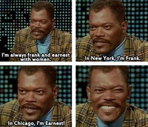 Samuel L. Jackson Is Smooth With the Ladies