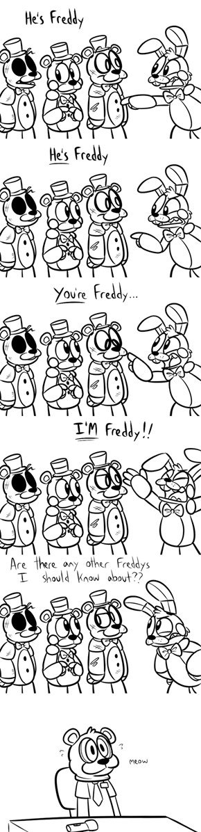 Will the Real Freddy PLEASE Stand Up