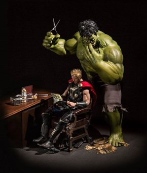 Hulk Not Compensate For Cowlick