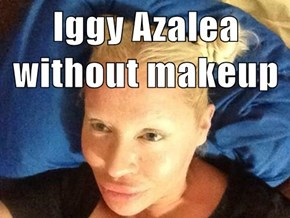 Iggy Azalea without makeup