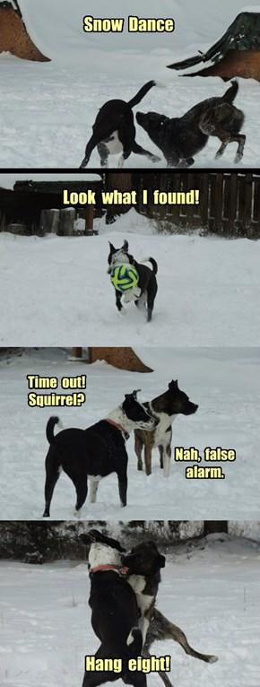Ermahgerd - Snow!
