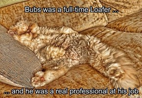 Bubs was a full-time Loafer ...