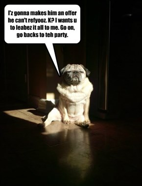 "The Dogfather Has Spoken - ""Act Like A Pug!"""