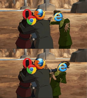 Prince Wu is Internet Explorer