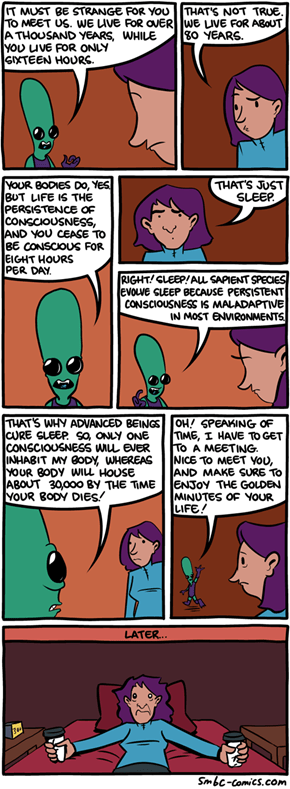 Aliens Show How Strange Life Is