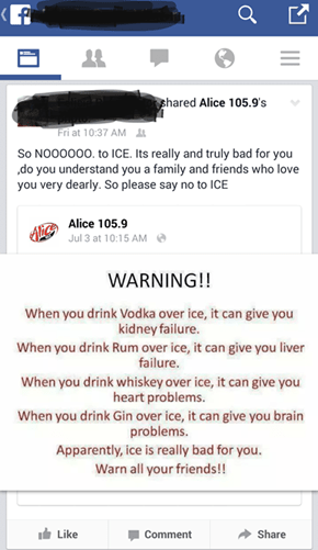 Are We All Under the Thumb of Big Ice?