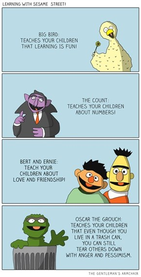 Important Life Lessons From Sesame Street