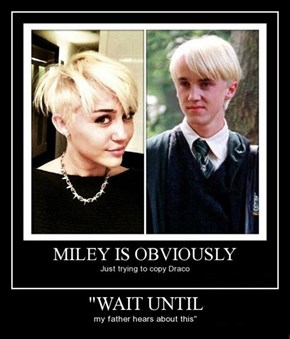 She's a Malfoy