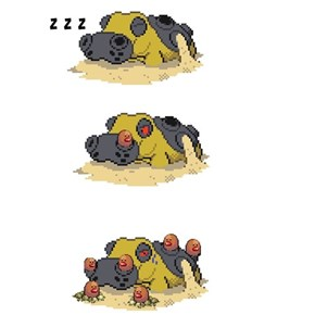 Diglett Wednesday: When You're Trying to Sleep and You Get Uninvited Guests