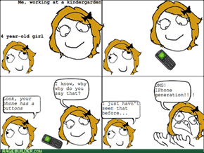 Stupid IPhone Generation