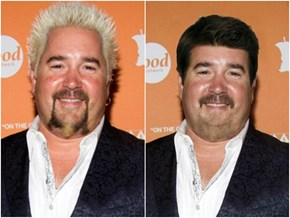 Guy Fieri Looks Freaky as Hell Without Frosted Tips