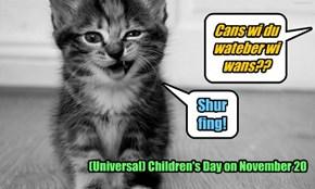 Children's Day on November 20