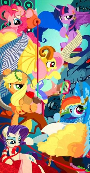 Ponies Meet Greek Mythology
