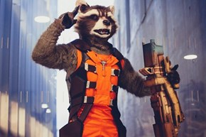 This Rocket Cosplay is TOO Realistic