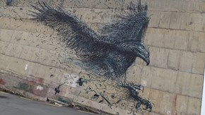 More Art by DALeast that Takes Flight in the Urban Landscape