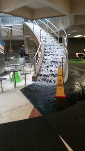 Cool Waterfall Installation!
