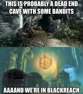 Every Single Time in Skyrim