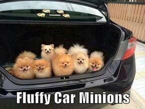 Fluffy Car Minions