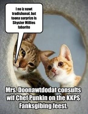KKPS Fanksgibing preperashuns.