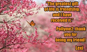 """The greatest gift of life is friendship, and I have received it."""